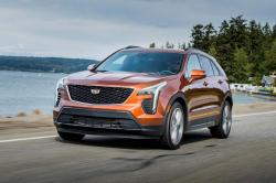 This undated photo provided by Cadillac shows the all-new 2019 Cadillac XT4, a small, luxury SUV hoping to claim its share of a very competitive segment