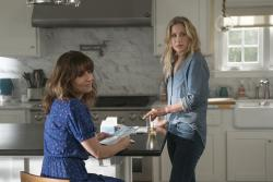 "Linda Cardellini, left, and Christina Applegate, right, in Netflix's ""Dead to Me."""