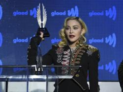 Madonna at the GLAAD Awards, May 4, 2019