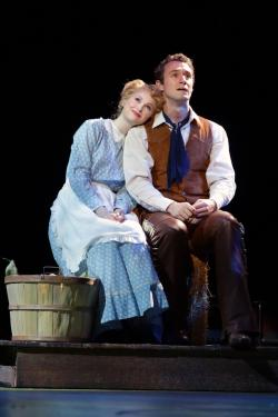 "Blake Price and Madison Claire Parks in ""Oklahoma!"" at the NSMT through June 16"