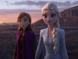 "A scene from the ""Frozen 2"" trailer."