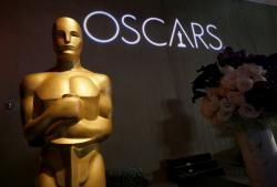 The Oscar statue appears the 91st Academy Awards Nominees Luncheon at The Beverly Hilton Hotel in Beverly Hills, Calif.