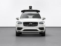 This undated product image provided by Volvo Cars shows the Volvo XC90 SUV