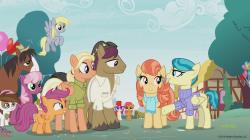"""A scene from the Discovery Family Channel cartoon series """" My Little Pony: Friendship is Magic"""" coinciding with Pride Month."""