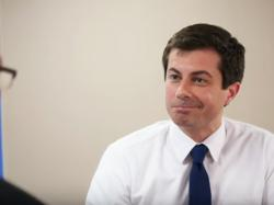 Openly gay Democratic 2020 hopeful Pete Buttigieg