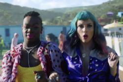 "Todrick Hall, left, with Taylor Swift in the music video for ""You Need to Calm Down."""