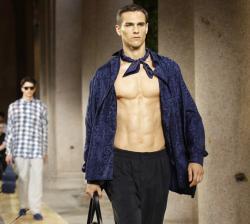 Armani men's Spring-Summer 2020 collection.