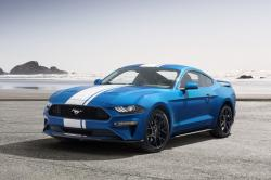 This undated photo provided by Ford shows a 2019 Ford Mustang