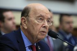 In this June 22, 2018, file photo, Commerce Secretary Wilbur Ross, testifies on Capitol Hill in Washington