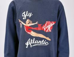 Princess Diana's sweatshirt, to be auctioned through July 10.