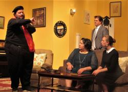 "A scene from ""Barefoot in the Park"" at the Granite Theatre through July 21"