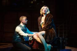 "Atticus Shaindlin and Cate Haynes in ""Cabaret,"" at the SF Playhouse through September 14"