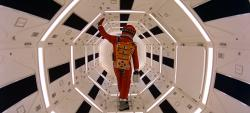 """Keir Dullea in a scene from the 1968 film, """"2001: A Space Odyssey."""""""