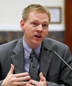 Iowa Workers' Compensation Commissioner Chris Godfrey