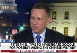 Peter Thiel on Fox News