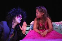 """Kyle Martin Clark and Adriana Albanese in """"The Monster Under the Bed"""""""