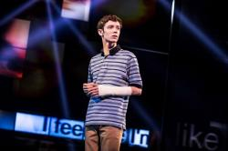 "Ben Levi Ross in ""Dear Evan Hansen"""