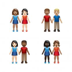 New emojis provided by Apple.