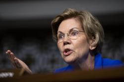 Senate Armed Services Committee member Sen. Elizabeth Warren, D-Mass.