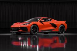 This June 24, 2019, photo shows a pre-production 2020 Chevrolet Corvette automobile in Warren, Mich.