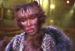 "A moment from the new ""Cats"" trailer."