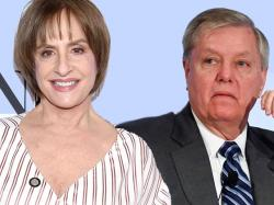 Patti LuPone and Lindsey Graham
