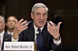 In this June 19, 2013, file photo, then-FBI Director Robert Mueller