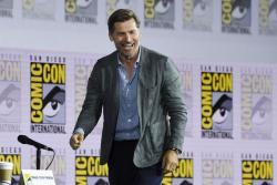 "Nikolaj Coster-Waldau arrives at the ""Game of Thrones"" panel on day two of Comic-Con International on Friday, July 19, 2019, in San Diego. (Photo by Chris Pizzello/Invision/AP)"