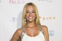 "Dina Manzo attends ""The Real Housewives of New Jersey"" White Party at the Woodbury Country Club in New York."