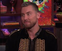 """Lance Bass on """"Watch What Happens Live!"""""""