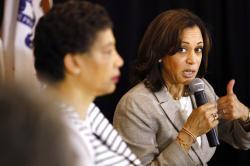 Democratic presidential candidate Sen. Kamala Harris.