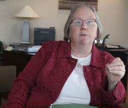 Laura Howard, the top administrator at the Kansas Department for Children and Families