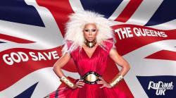 """RuPaul for """"RuPaul's Drag Race U.K."""""""