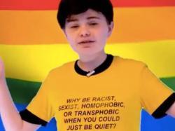 14-Year-Old YouTube Celeb Posts Anti-LGBTQ Content, Threatening Gun Selfie