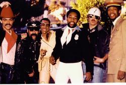 From left: Randy Jones, Glenn Hughes, Felipe Rose, Victor Willis, David Hodo, Alex Briley in 1978.