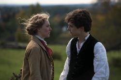 "Saoirse Ronan, left, and Timothée Chalamet in ""Little Women"""
