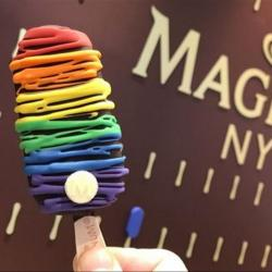 Magnum created this special Pride ice cream in 2017