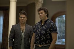 "Adam Devine, left, and Danny McBride, right, in a scene from ""The Righteous Gemstones."""