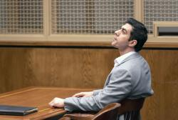 Defendant Hossein Nayeri sits in court following a guilty verdict in his trial, Friday, Aug. 16, 2019 in Newport Beach, Calif.
