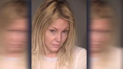 Heather Locklear in her 2017 booking photo