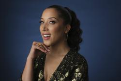 """In this Wednesday, July 24, 2019, file photo, Robin Thede, the creator, star and executive producer of the HBO comedy series """"A Black Lady Sketch Show."""""""
