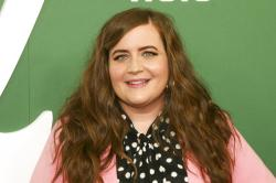 "Aidy Bryant attends the premiere of Hulu's ""Shrill"" at the Walter Reade Theater in New York."