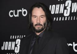 """Keanu Reeves attends the world premiere of """"John Wick: Chapter 3 - Parabellum"""" at One Hanson in New York."""