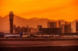 Las Vegas McCarran International Airport.