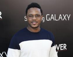 """This May 20, 2013 file photo shows actor Hosea Chanchez at the LA Premiere of """"The Hangover: Part III"""" in Los Angeles"""