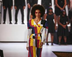 Pyer Moss's latest collection at NY Fashion Week.