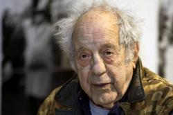 Photographer and filmmaker Robert Frank