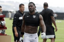 Oakland Raiders' Antonio Brown