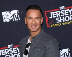 "Mike ""The Situation"" Sorrentino at the premiere of ""Jersey Shore Family Vacation"" in Los Angeles."