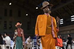 Marc Jacobs' latest collection at NY Fashion Week.